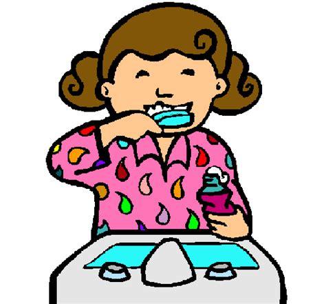 dibujo de ni a cepill ndose los dientes para colorear dibujo de unos ni 241 os cepillandose los dientes imagui