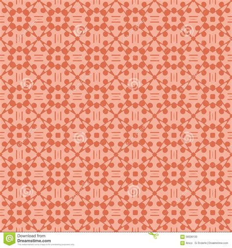 color pattern orange abstract seamless pattern in orange color stock vector