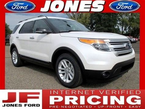 2014 Ford Explorer Msrp by Find New New 2014 Ford Explorer Fwd Xlt Msrp 39895 White