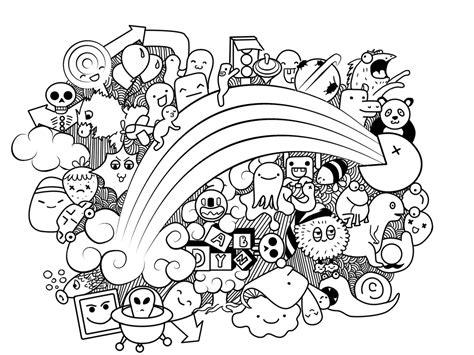 easy doodle coloring pages qu est ce que le doodling noe papercraft