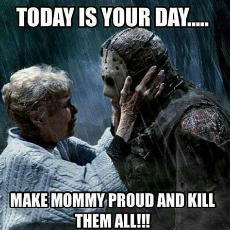 Jason Voorhees Meme - 137 best jason voorhees memes images on pinterest horror