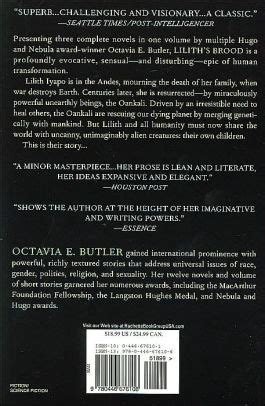 Pdf Liliths Brood Octavia E Butler by Lilith S Brood By Octavia E Butler Paperback Barnes