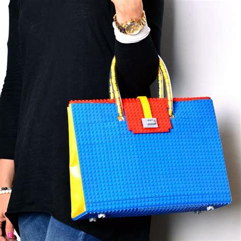 lego sack the brick bag a purse made from lego technabob
