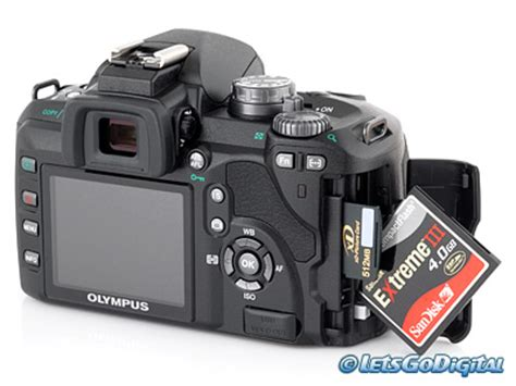Kamera Olympus E510 olympus e510 digital review storage and energy