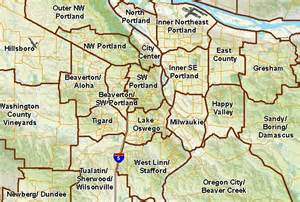 map of portland oregon zip codes portland oregon zip code map