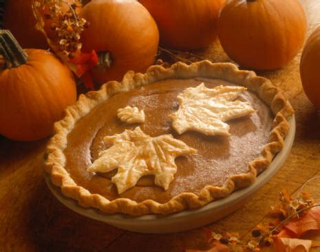 Traditional Thanksgiving Pumpkin Pie