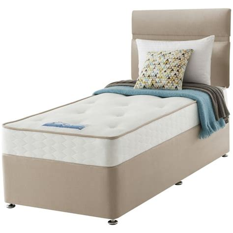 Argos Single Bed Headboards by Buy Sealy Revital Backcare Single Divan Bed At Argos Co Uk