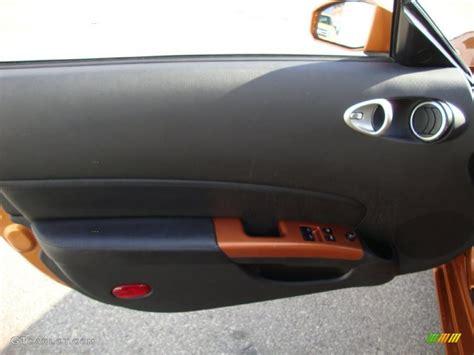 burnt orange leather interior 2006 nissan 350z touring coupe photo 41063587 gtcarlot com 2006 nissan 350z touring coupe burnt orange leather door