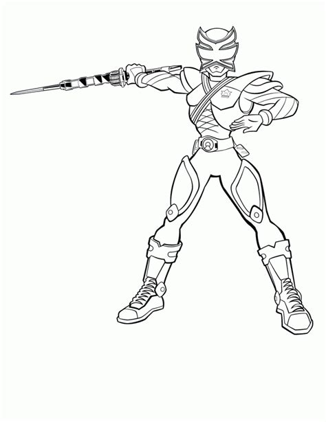 coloring pages power rangers samurai free printable power rangers coloring pages for kids