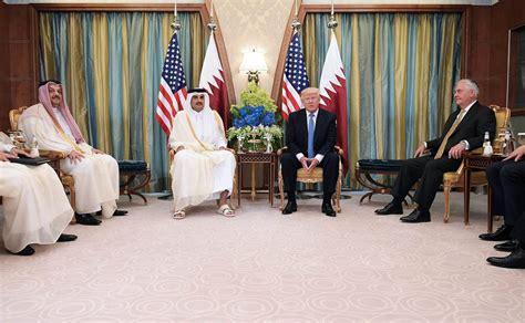 donald trump qatar who planted the fake news at center of qatar crisis