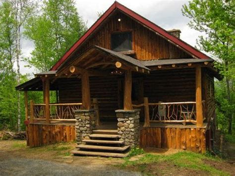 Craftsman Cabin by Craftsman Style Log Cabin Home