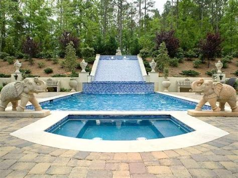 backyard aqua designs 17 best images about backyard pools on pool