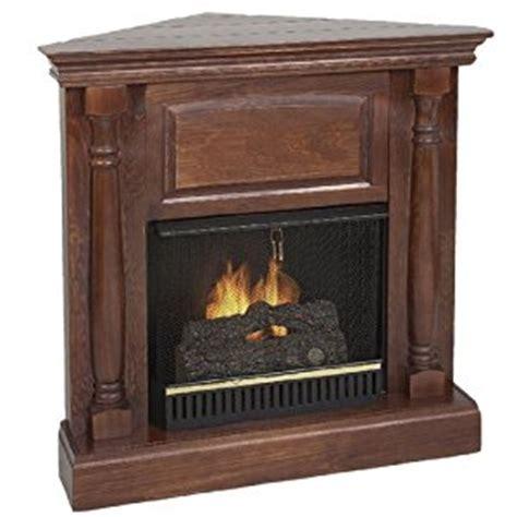 Corner Ventless Propane Fireplace by Real Pillar Indoor Ventless Corner