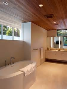 Bathroom Wood Ceiling Ideas Wood Ceiling Home Design Ideas Pictures Remodel And Decor