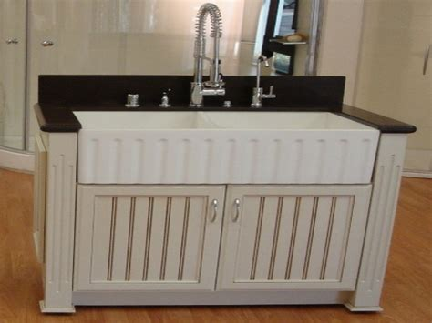 laundry room utility sink cabinet apron front farmhouse