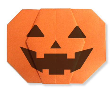Origami Pumkin - origami how to fold pumpkins and o