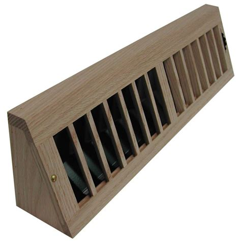 recessed baseboards all american wood register co aarmbar max flow baseboard