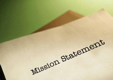 where is your own mission statement