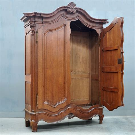 antique armoire furniture typical flemish oak armoire de grande antique furniture