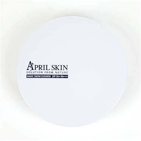 April Skin Magic Cushion White 2 0 phấn nước april skin magic snow cushion white spf50 pa