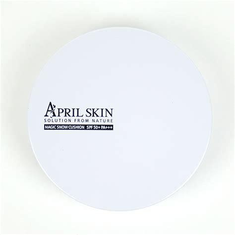 April Skin White Cushion april skin magic snow cushion white review