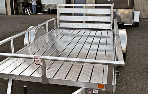 Utility Trailer Flooring by Extruded Aluminum Extruded Aluminum Flooring