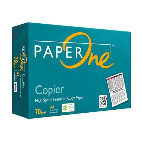 Kertas Paper One 2018 Jual Paper One Copier Kertas Fotokopi Hvs A4 70 Gsm 1