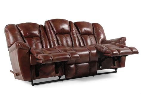 lazy boy leather recliner sofa la z boy barrett reclining