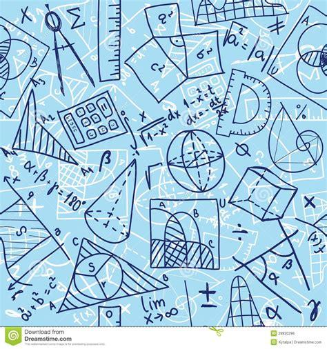 maths pattern drawing mathematics seamless pattern royalty free stock image