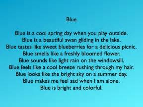 poems about the color blue poems about blue colour