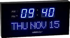 good Large Display Digital Wall Clocks #3: convenient-functions-of-large-outdoor-digital-clock.jpg