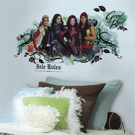 Camo Wall Stickers disney descendants isle of the lost wall decals room decor
