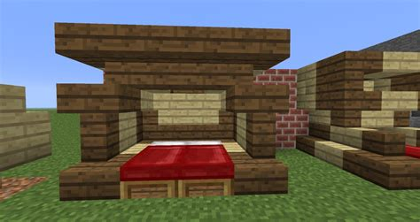 Home Designs Interior by 12w34b Elaborate Beds Minecraft Project