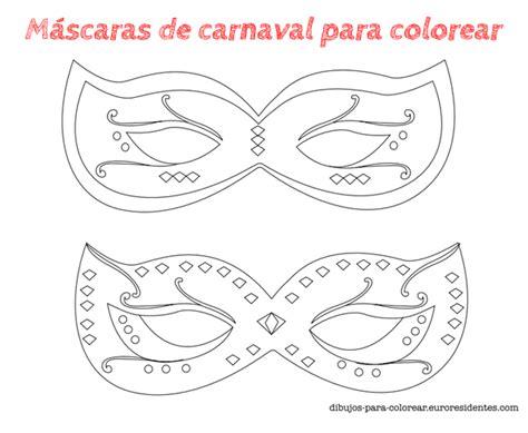 mascaras de carnaval para colorear contuspropiasmanos 6 m 225 scaras de carnaval para colorear m 225 scaras de