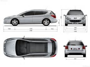 Peugeot 407 Sw Dimensions Peugeot 407 Sw Photos Photogallery With 15 Pics