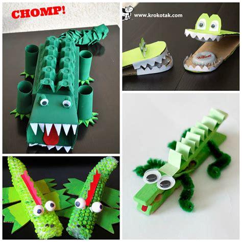 crocodile crafts for creative alligator crocodile crafts for crafty