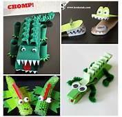 Creative Alligator &amp Crocodile Crafts For Kids  Crafty