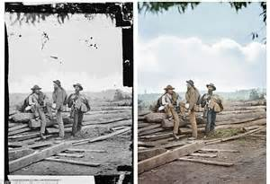 civil war photos in color amazing civil war photographs created by colorist bring