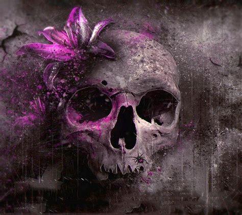 wallpaper gothic pink pink flower skull creepy dark fantasy gothic pinterest