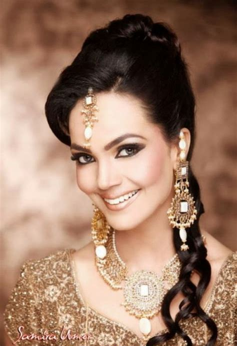 hairstyles bridal pakistani pakistani wedding hairstyles pictures for brides
