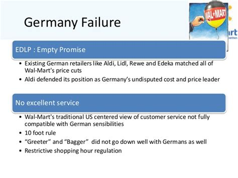 Mba From Germany Value by Walmart Supply Chain
