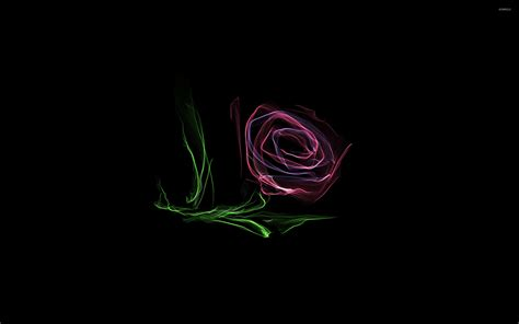abstract rose wallpaper glowing rose wallpaper abstract wallpapers 31559