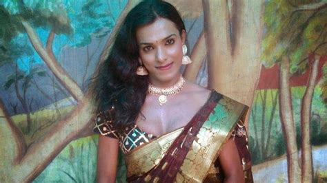 Cross Dresser In Saree by Crossdressing Trends Who Like To Wear Saree
