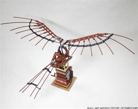 macchina volante di leonardo da vinci la macchina volante di leonardo da vinci su lego ideas