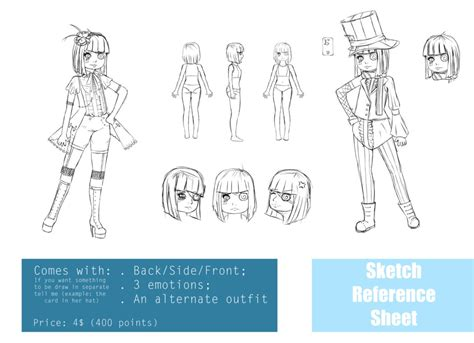 sketchbook recommendation sketch reference sheet exle by kimidoll on deviantart