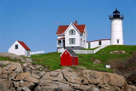 Nubble Light by File Cape Neddick Light Jpg Wikimedia Commons
