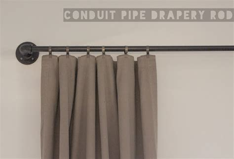 curtain rod pipe ador conduit pipe drapery rod