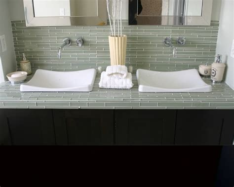bathroom tile countertop ideas 23 best bath countertop ideas images on bath