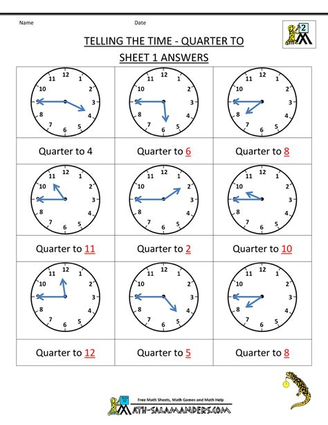 printable half and quarter worksheets time worksheet half past new calendar template site