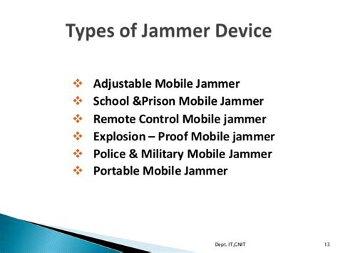 if section in mobile jammer mobile jammer